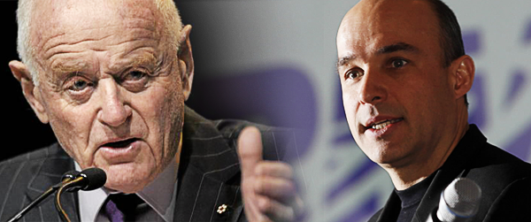 Jim Balsillie Peter Munk