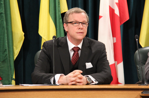Saskatchewan Premier Brad Wall. Photo: Alyssa McDonald/Metro
