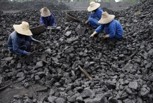 Chinese coal miners (FT)
