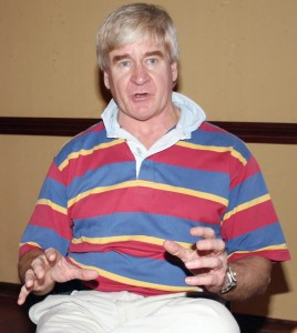 Colin Steyn (Chairman of CPT and founder of LionOre and Mantra)