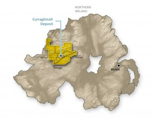 Ireland already hosts a number of metals mines including Galantas Gold's Cavanacaw Mine