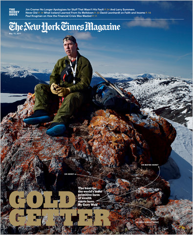 Junior mining investors should have known that when Shawn Ryan was on the cover of the NYT, it was time to sell. -TH