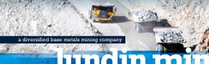 Lundin expects to grow copper production 20% over the next 2 years (Company)