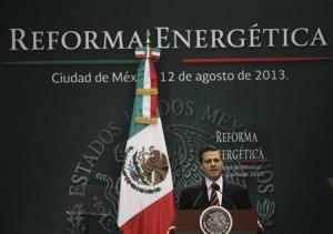 Enrique Pena Nieto has made oil and gas reform in Mexico the cornerstone of his Presidency (Credit: Reuters/Henry Romero)