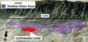 Silver Bull will look to a new mineralized zone located (Image: Silver Bull Resources Inc.)