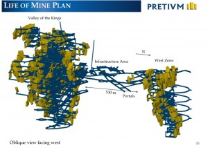 The Brucejack life-of-mine plan (Image: Pretium Resources)