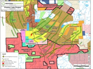 Regional map showing the exploration corridors (Image: Skyharbour Resources Ltd.)
