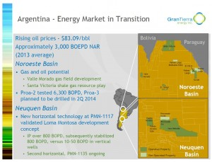 Gran Tierra's Argentinian assets will add 3,300boe/d of production to Madalena (Image: Gran Tierra Energy Inc.)