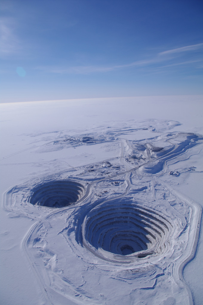 Dominion Diamond's Diavik mine in the Canadian Arctic (Photo: Dominion Diamonds)