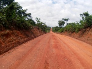 Site access road at Asanko (Photo: Asanko Gold)