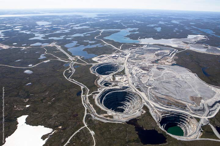 The Ekati Diamond Mine (Photo: Dominion Diamond Corp.)