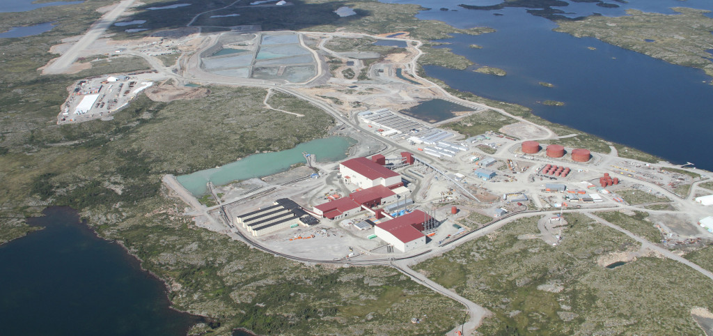 De Beers' Snap Lake mine located approximately 90km to the west of Margaret Lake (Image: De Beers Group Canada)