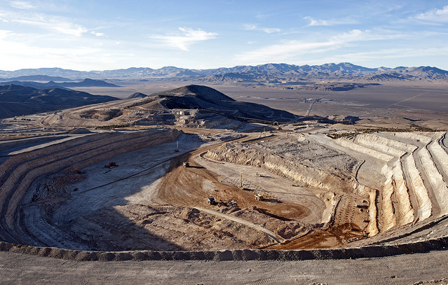 barrick gold and the mine at