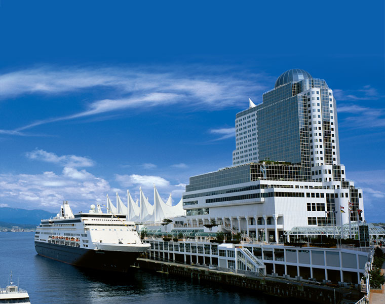 The one and only Pan Pacific Hotel Vancouver, home to Ivanhoe Mines, a 5 star hotel and the 2014 Subscriber Summit (Pan Pac photo)