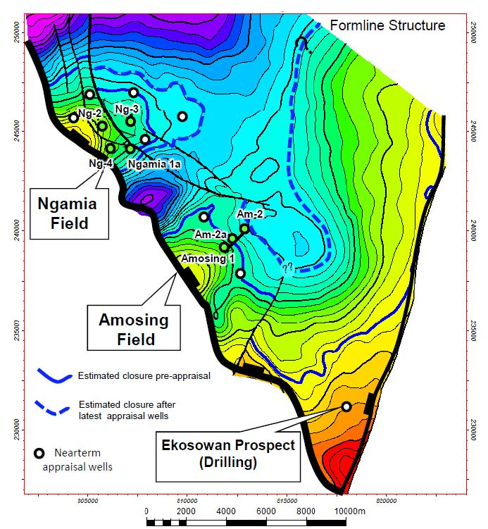 The appraisal program at Ngamia and Amosing are progressing well (Image: Africa Oil)