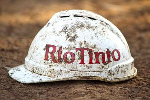 Rio Tinto's shares have fallen 12% this year while Glencore's are up 12% (Image: Aaron Bunch/Getty)