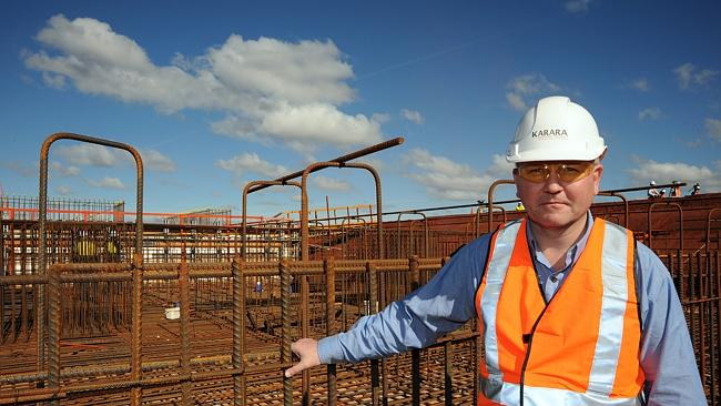 Stephen Murdoch will lead the private equity backed Auctus Minerals (Image: The Australian)