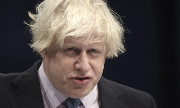 Boris Johnson, courtesy of The Guardian