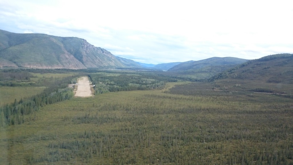 Kaminak Gold airstrip (Source: CEO.ca)