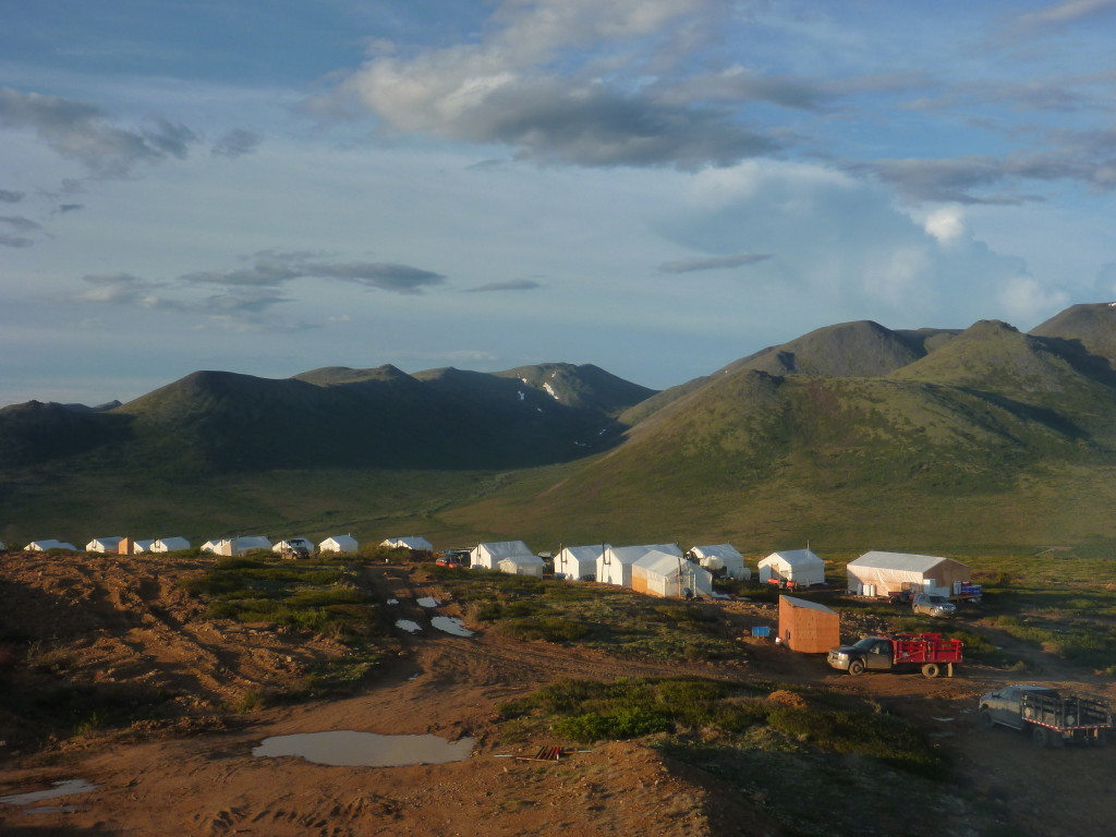 Klaza Camp (Source: Rockhaven Resources)