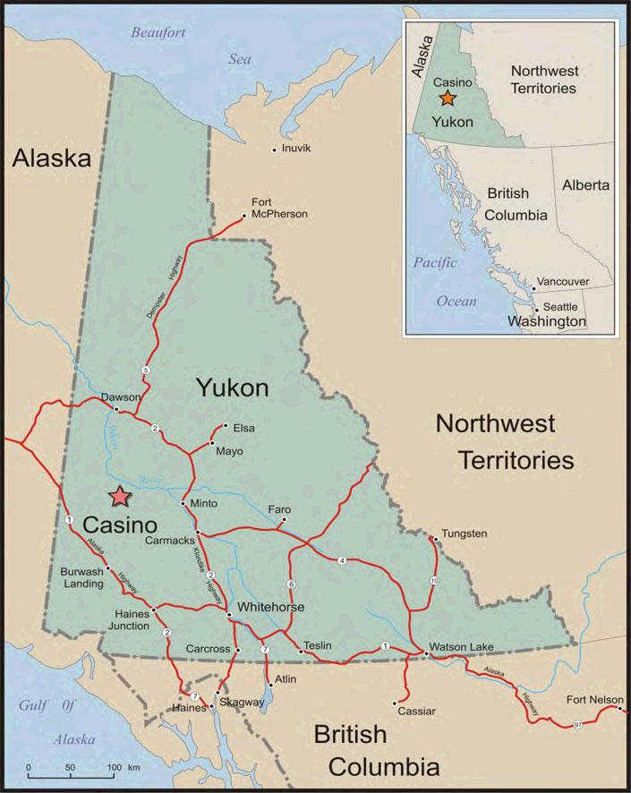 The Yukons largest undeveloped copper gold project YMIG Part 7