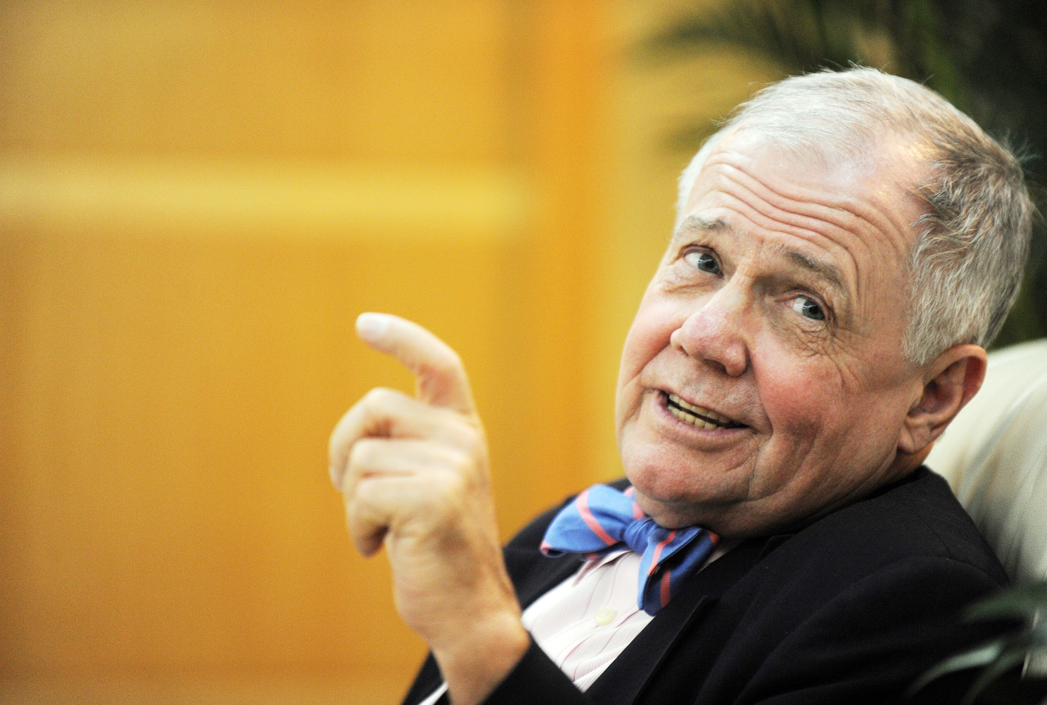 Investment legend Jim Rogers was raised in Alabama but is now based in Singapore, where his daughters are learning Mandarin. (AFP photo)