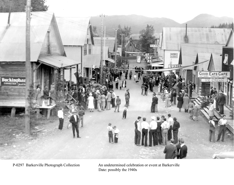essay on barkerville