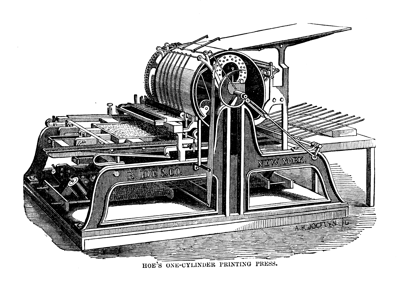 The machines have been upgraded, but printing remains popular. Wikimedia Commons
