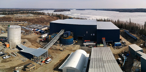 Rubicon's Phoenix gold project in Red Lake, Ontario. (Rubicon Minerals photo)