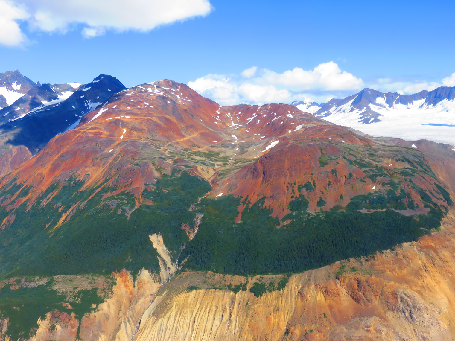 IDM Mining's Red Mountain gold project near Stewart, B.C.