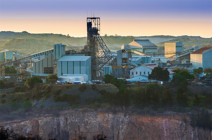 The Cullinan mine in South Africa. Source: Petra Diamonds